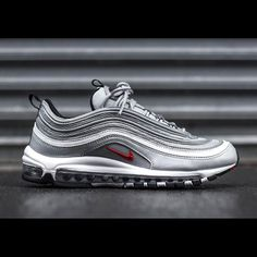 65385da78048 Nike Air Max 97 Silver Bullet Running Shoes For Men