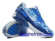 ff4e7ebd423a Vendre Pas Cher Femme Chaussures Nike Air Max 90 (couleur blanc