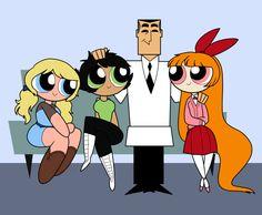 Fam by teacupballerina on DeviantArt Cartoon Network Powerpuff Girls, Ok Ko Cartoon Network, Girl Cartoon, Powerpuff Girls Teenagers, Power Girl, Character Art, Character Design, Ppg And Rrb, Cartoon Profile Pics