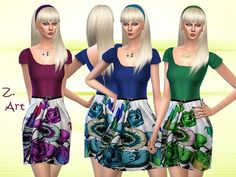 The Sims Resource: Cookie Friendship Necklaces by Pralinesims The Sims, Sims Cc, Sims 4 Dresses, Poppy Dress, Sims 4 Game, Friendship Necklaces, Sims 4 Update, Sims Resource, Sims 4 Clothing