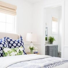 332 Best Blue And White Bedrooms Images Bedroom Decor Bed Room
