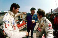 Jody Scheckter and Gilles