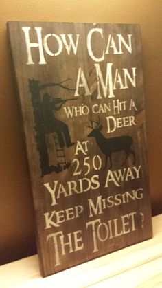 BATHROOM SIGN – Kimber Creations