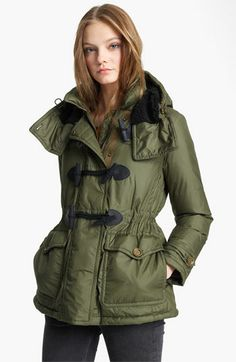 Burberry Brit Toggle Parka | Nordstrom    http://shop.nordstrom.com/S/burberry-brit-toggle-parka/3335216?origin=related-3335216-0-0-1-2