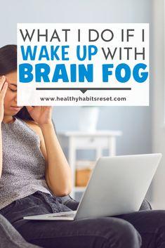 How I zap the brain fog before it gets worse. #brainfog #autoimmunediseasebrainfog #chronicfatiguebrainfog Chronic Fatigue Treatment, Chronic Disease Management, Mental Health Activities, Natural Remedies For Anxiety, Thyroid Problems, Brain Fog, Thyroid Health, Autoimmune Disease