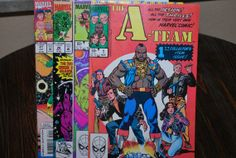 4 comics 80's and 90's  Free Shipping by HobbyHaven on Etsy, $7.50