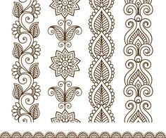 The vector file Border elements in Indian mehndi style CDR File is a Coreldraw cdr ( .cdr ) file type, size is KB, under elements, henna, mehndi vectors. Doodle Art Designs, Doodle Patterns, Henna Patterns, Zentangle Patterns, Henna Drawings, Zentangle Drawings, Pencil Drawings, Mandala Artwork, Mandala Drawing
