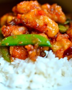 Yammie's Noshery: Sweet and Sour Chicken {Without all the deep-frying!}
