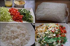 Salata de legume cu orez basmati.Salata de post cu orez si legume.Orez basmati Riso Scotti.Cum se face salata de orez basmati cu legume. Healthy Salad Recipes, Grains, Rice, Cheese, Food, Essen, Meals, Seeds, Yemek