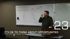 It's Ok to Think About Opportunities from Using the Career Compass to Find Your Work and Career