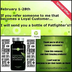 Try our products today! You will thank me later! Www.wrapswithandria.com