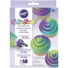 Shop for Wilton color swirl at Bed Bath & Beyond. Buy top selling products like Wilton® Color Swirl™ Tri-Color Coupler Decorating Set and Wilton Color Swirl Cupcake Decorating Kit. Shop now! Cake Decorating Frosting, Cake Decorating Kits, Decorating Supplies, Baking Supplies, Cake Supplies, Baking Tools, Baking Pans, Icing Tips, Frosting Tips