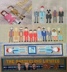 Oh Mah Gawddd I need more craft time in my life. Wes Anderson collection cross stitch PDF by on Etsy Cross Stitch Fabric, Cross Stitch Rose, Counted Cross Stitch Patterns, Cross Stitching, Cross Stitch Embroidery, Pdf Patterns, Beading Patterns, Snitches Get Stitches, The Royal Tenenbaums