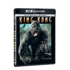 Blu-ray King Kong, UHD + BD, CZ dabing | Elpéčko - Predaj vinylových LP platní, hudobných CD a Blu-ray filmov King Kong