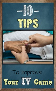 If you're a nurse within the hospital, you must use IVs on the daily. However, inserting an IV can be difficult and is a skill that takes time to develop. Use these 10 Tips to improve your IV skills and sink those IVs like a pro Nursing School Notes, Icu Nursing, Nursing Tips, Nursing Programs, Lpn Programs, Nursing Scrubs, Pharmacology Nursing, Nursing Degree, Pediatric Nursing