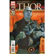 Mighty Thor #3. Marvel Aug 2011. 1:20 Captain America Variant. VFN+