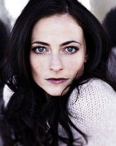 Irene Adler played by Lara Pulver on the BBC Sherlock series. The episode she was in is one of my favorites.