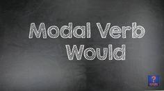 Aula de Inglês #35: Modal verb WOULD \ Modal WOULD
