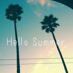 Hello Summer! Hot body here I come!!! Xoxo
