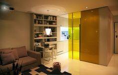 Pequeno apartamento com características Inteligente
