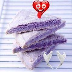 Lavender Shortbread Lavender purple shortbread - oh wow!<br> Lavender Shortbread, Irish, Magazine, Purple, Irish People, Ireland, Magazines, Viola, Irish Language