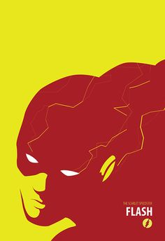 DC Comic Superhero Poster Series on Behance