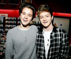Bradley Simpson and Connor Ball-the vamps