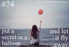 I always wanted to do this! :) and I hope the ballon fly to you. Best Friend Bucket List, Bucket List Before I Die, And So It Begins, Life List, Just Dream, Summer Bucket Lists, 2017 Goals Bucket Lists, Teen Bucket List, So Little Time