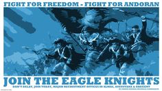 Join the Eagle Knights Pathfinder Poster