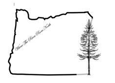 Oregon tattoo, with lyrics