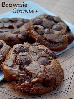 Cookies-Brownies au chocolat