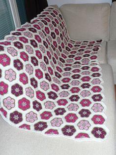 African flower blanket