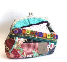 Bolso multicolor patchwork