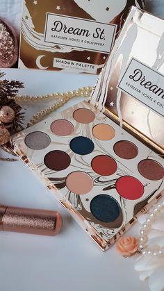 Kathleenlights X Colourpop Dream St Eyeshadow Palette - Review & Swatches.