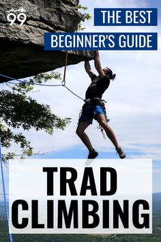 Since the rise of sport climbing, trad climbing has become a genre unto itself. Whether you only trained in a climbing gym or are an experienced sport climber, in this comprehensive guide, you'll find everything you'll need to know to get started as a trad climber - from trad climbing terminology and protection to climbing gear, grades and more. I Rock climbing for beginners I Rock climbing tips I Rock climbing for women Climbing Gloves, Climbing Harness, Rock Climbing Workout, Sport Climbing, Rock Climbing For Beginners, Climbing Chalk, Climbing Outfits, Strength Training Workouts, Climbers