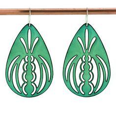 I love this enamel jewelry