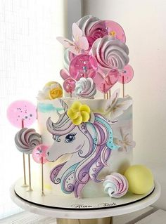 Cake Pictures, Horse Template, Birthday Cake, Baking, Cake Ideas, Sweet, Desserts, Cakes, Crack Cake