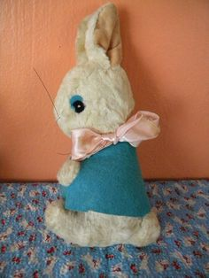 Bunny's Pink Sunset by Paula Guerin on Etsy