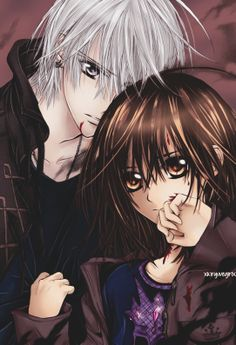 Yuki Cross, Zero Kiryuu.  I'm not really a Zeki fan, but I love the artwork for Vampire Knight