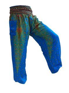 Best Harem pants I seen so far Yoga Harem Pants, Harem Trousers, Trousers Women, Jumpsuits Uk, Hippie Festival, Smocking, Boho, Stylish, Lady