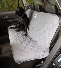 Back Seat Protector And Dog Seat Cover - Fits 80% Of The Cars On The Market - Innovative No Slip Design - Easy To Clean - 100% Money Back Guarantee. Protect Your Seats By Purchasing This Today. ** Click image to review more details.