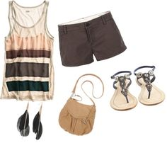 """Springy/Summery"" by hannahdewi on Polyvore"