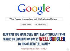 What Google Know About Your Graduates Matters.