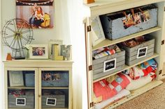 Natalie's Home Made Lovely | vintage toolboxes, storage