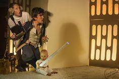 Divertidísimas fotos de bebé recreando las más famosas escenas cinematográficas
