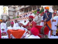 Prince Lakshyaraj Singh Mewar at Holika Dahan Ceremony 2012 - YouTube