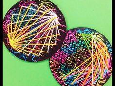 Cassie Stephens: In the Art Room: String Art!