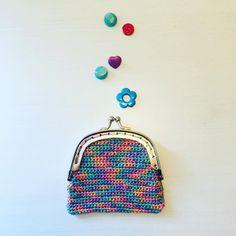 "Alex from Vienna auf Instagram: ""#crochet #crocheting #crochetlove #crochetaddict #crochetastherapy #craftastherapy #crochetgirlgang #instacrochet #ilovecrochet…"" Girl Gang, My Bags, Vienna, Crocheting, Unicorn, Coin Purse, Tapestry, Wallet, My Love"