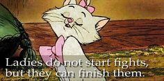 wise words from the aristocats
