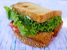 Vegan Brunch Delight – Lentil Loaf Sandwich (It's Really Good!) | Vegan Cooking - Recipes & Resources